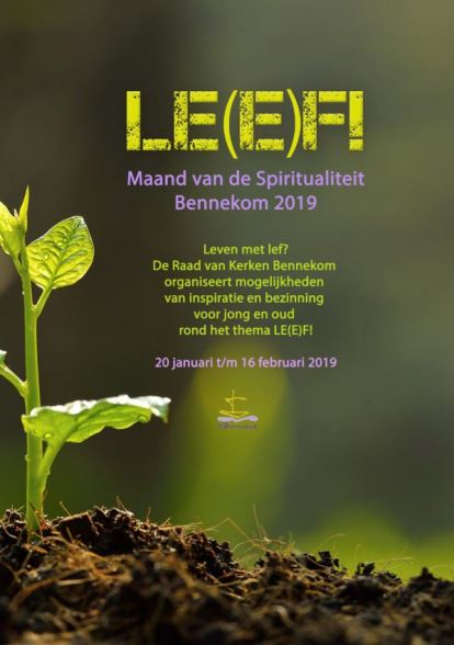 poster Leef spiritualiteit